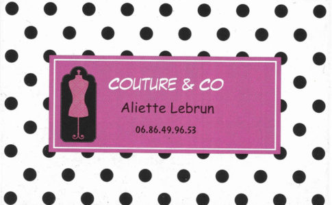 Couture&Co Carte Visite